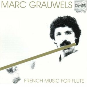 French Music for flute. Grauwels, M.