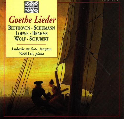 Goethe lieder. De San/Lee.