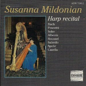 Harp recital. Mildonian, S.