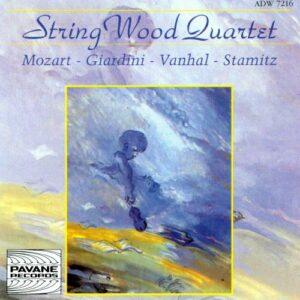 Mozart/Stamitz/Giardini/Vanhal : Oboe quartets. Vandeville/StringWood Quartet.