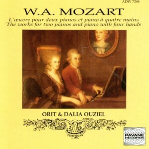 Mozart : Complete works for two pianos and piano duets. Ouziel, O. & D.