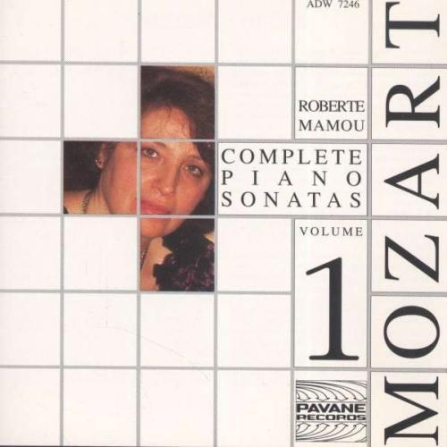 Mozart : Complete piano sonatas vol.1. Mamou, R.