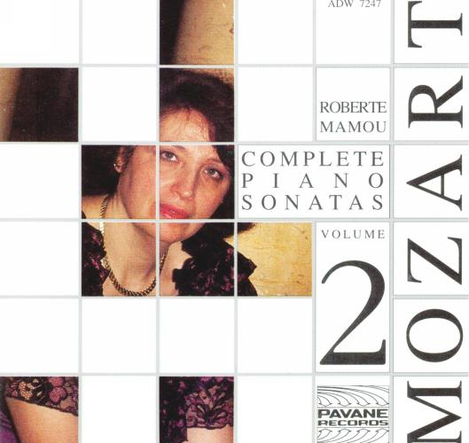Mozart : Complete piano sonatas vol.2. Mamou, R.