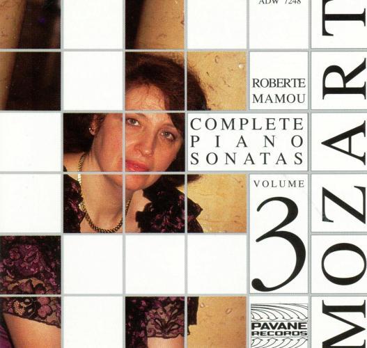 Mozart : Complete piano sonatas vol.3. Mamou, R.