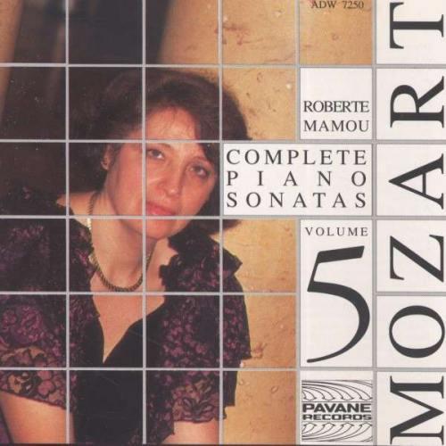 Mozart : Complete piano sonatas vol.5. Mamou, R.