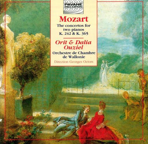 Mozart : Concertos for two pianos KV 242 & 365. Ouziel, Orit & Dalia.