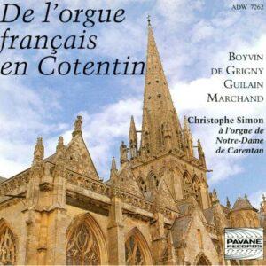 Orgue français en Cotentin. Simon, Chr.