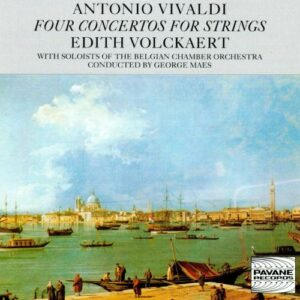 Vivaldi : Four Concertos for Strings. Volckaert E./Belgian C.O.