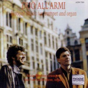 Baroque music for trumpet and organ. Roelant/Landeghem.