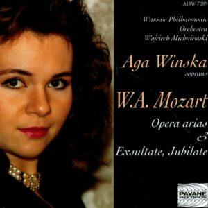 Mozart : Opera Arias/Exultate Jubilate. Winska/Warsaw P.O./Michniewski.