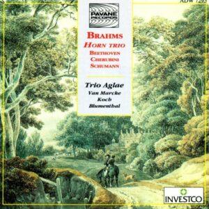 Brahms/Beethoven/Cherubini/Schumann : Horn trio/Works for horn & piano. Van Marcke/Koch/Blumenthal.