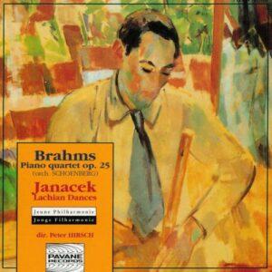 Brahms/Janacek : Klavierquartett op.25/Lachian Dances/Polka. Jeune Philharmonie/Hirsch.