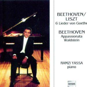 Beethoven : Sonatas Nos 21 Waldstein/23 Appassionata/6 Goethe lieder (transcr.Liszt). Yassa, R.