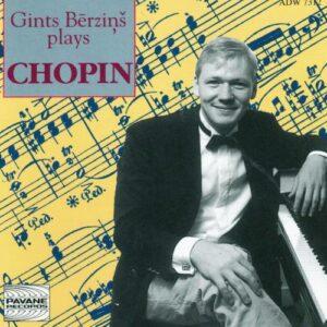 Chopin : Etudes op.10/Sonata n°3. Berzins, G.