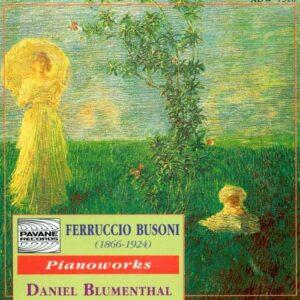 Busoni : Piano works. Blumenthal, D.