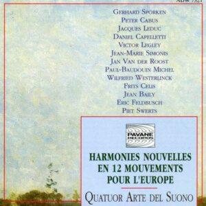 Harmonies Nouvelles for Europe. Bobesco/Arte del Suono.