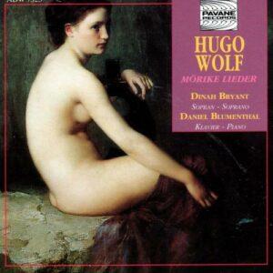Wolf, Hugo : Mörike lieder. Bryant/Blumenthal.