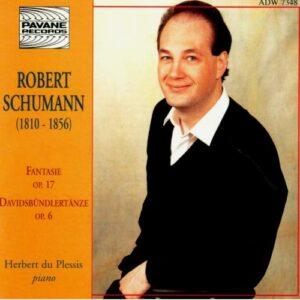 Schumann, R. : Fantasie op.17/Davidsbündlertänze op.6. du Plessis, H.