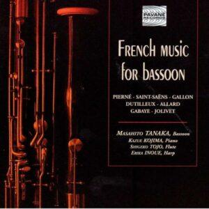 French Music for bassoon. Tanaka/Kojima/Tojo/Inoue.
