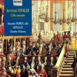 Vivaldi : Cello concertos. Debrus/Arpeggio C.O.