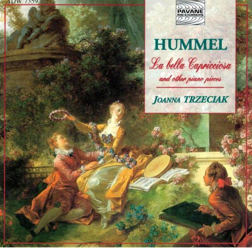 Hummel : La bella capricciosa/Piano works. Trzeciak, J.