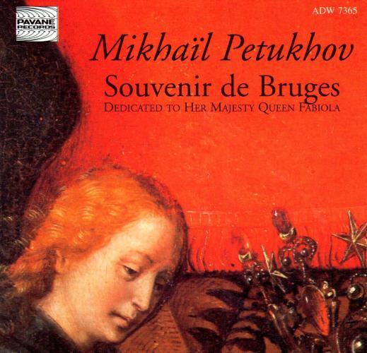Pethukov, Mikhail : Sonata for piano/Souvenir de Bruges/Elegie Romantique. Pethukov/Girshenko/Kalyanov.