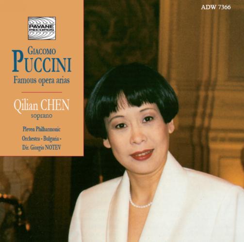 Puccini : Famous Opera arias. Chen/Notev/Pleven Philharmonic Orchestra.