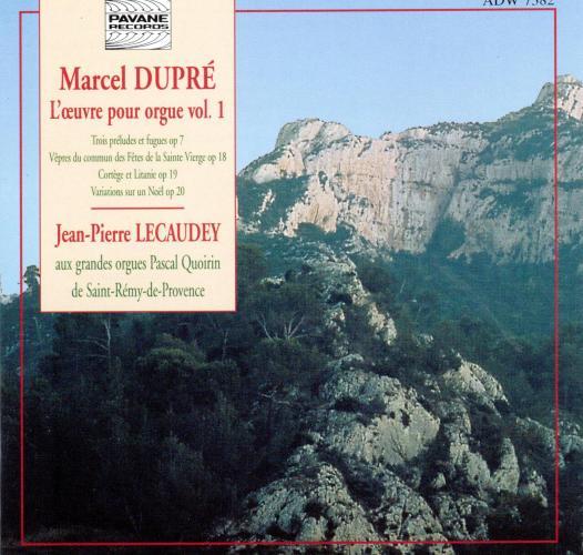 Dupre, Marcel : Organ works. Lecaudey, J.P.