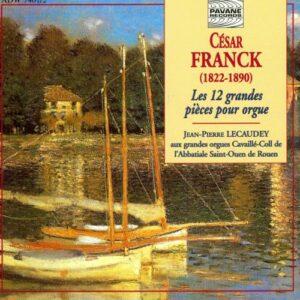 Franck : Complete organ works. Lecaudey, J.P.