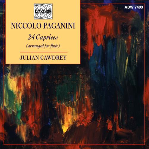 Paganini : Caprices (transcr. for flute). Cawdrey, J.