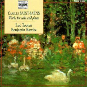 Saint-Saens : Works for cello & piano. Tooten/Rawitz.