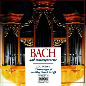 Bach/Krieger/Kuhnau/Fasch/Altnickol : Organ works. Ponet, L.