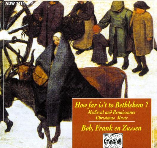 Medieval and renaissance christmas music. Bob, Frank en Zussen.