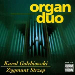 Organ duo. Golebiowski/Strzep.