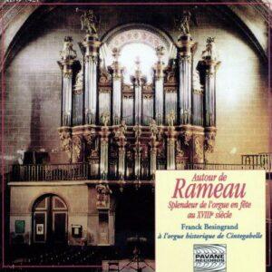 Rameau/Balbastre/Corrette/… : Organ works. Besingrand, F.
