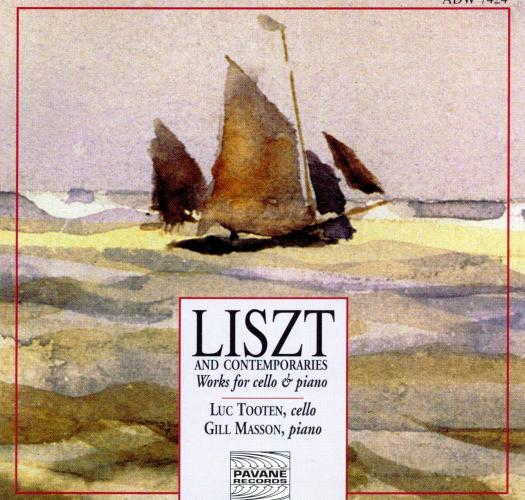 Liszt/Dvorak/Janacek : Works for cello & piano. Tooten/Masson.