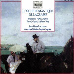 Romantic organ music in Lagrasse. Lecaudey, J.P.