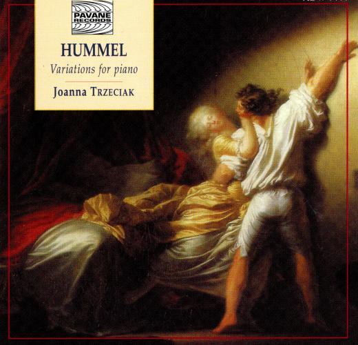 Hummel : Variations for piano . Trzeciak, J.