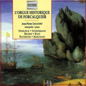 Orgue historique de Forcalquier. Lecaudey, J.P.