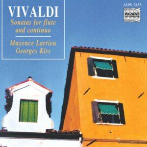 Vivaldi : Flute sonatas. Larrieu/Kiss.