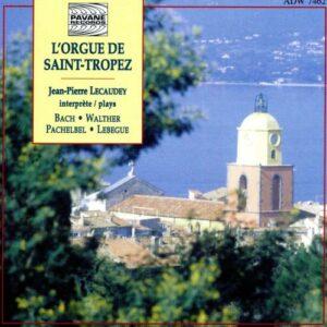 Orgue de Saint Tropez. Lecaudey, J.P.
