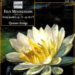 Mendelssohn : Complete string quartets vol.2. Arriaga Quartet.