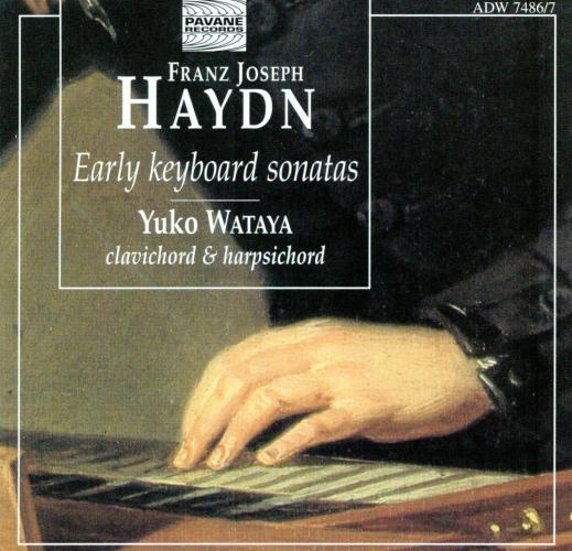 Haydn : Early keyboard sonatas. Wataya, Yuko.