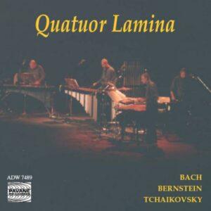 Bernstein/Tchaikowsky/Bach : Résonances. Lamina Percussion Quartet.