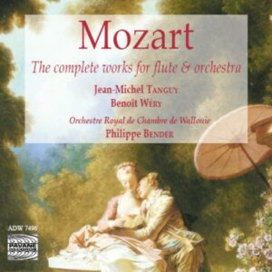 Mozart : Flute concertos. Tanguy/Wéry/Walloon C.O.