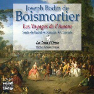 De Boismortier : Les Voyages de l'Amour. Cetra d'Orfeo/Keustermans.
