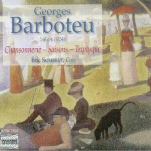 Barboteu : Hommage . Sombret/Lecaudey/Ensemble de Cuivres d'Avignon.