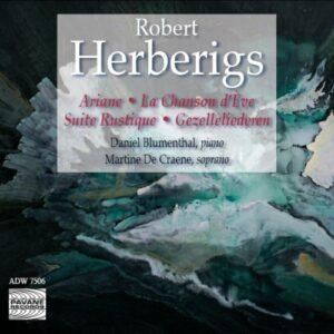 Herberigs : Piano works & Songs. Blumenthal/De Craene.