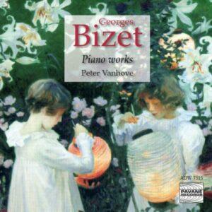 Bizet : Œuvres pour piano. Vanhove