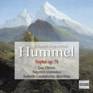 Hummel : Septet. Solstice Ensemble/Lamfalussy.